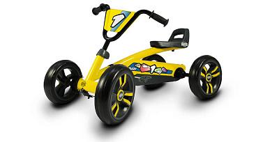 Веломобиль Berg Buzzy (желтый) — купить по низкой цене в интернет-магазине: фото, отзывы